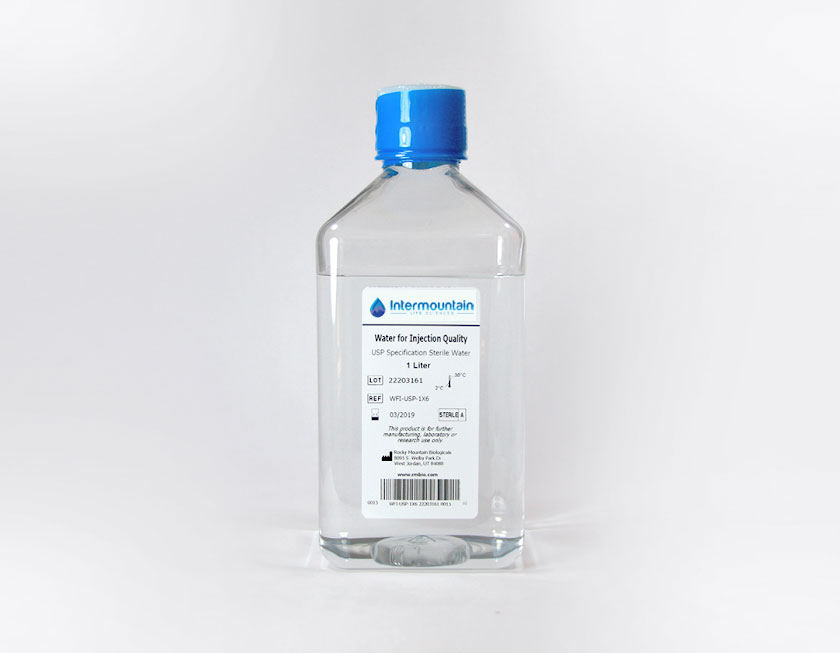 Water For Injection (WFI), USP