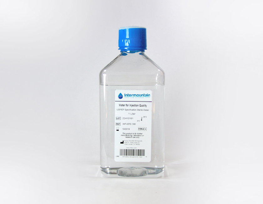 Water For Injection, USP/EP Grade